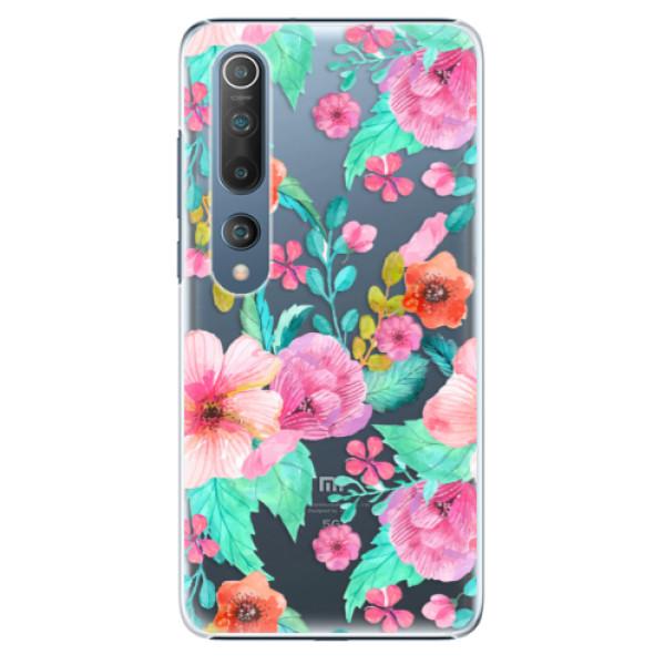 Plastové pouzdro iSaprio - Flower Pattern 01 - Xiaomi Mi 10 / Mi 10 Pro