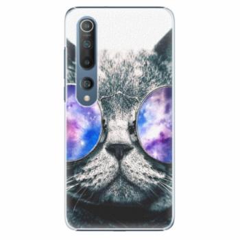 Plastové pouzdro iSaprio - Galaxy Cat - Xiaomi Mi 10 / Mi 10 Pro
