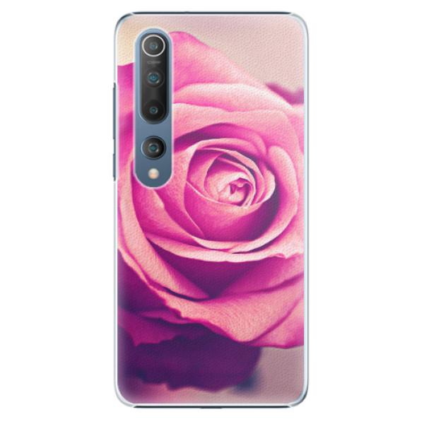Plastové pouzdro iSaprio - Pink Rose - Xiaomi Mi 10 / Mi 10 Pro