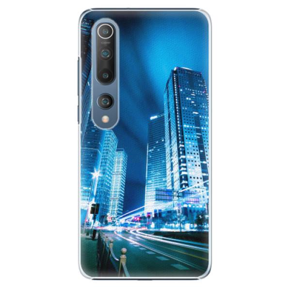 Plastové pouzdro iSaprio - Night City Blue - Xiaomi Mi 10 / Mi 10 Pro
