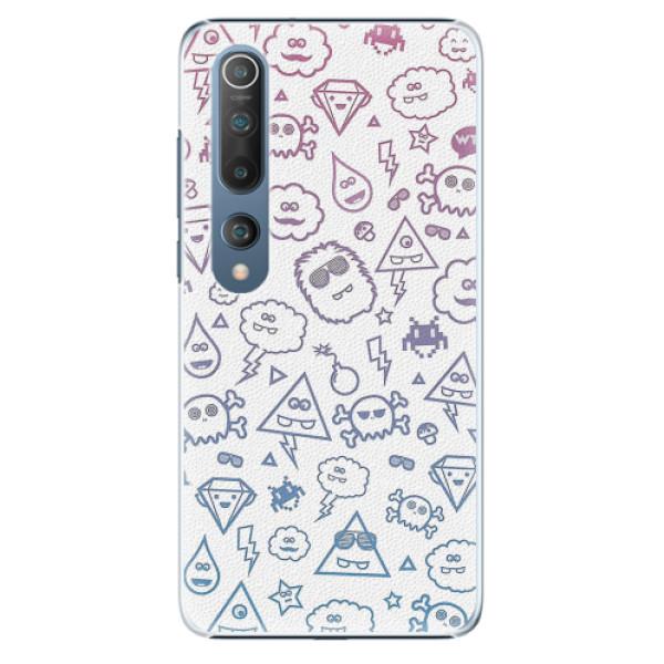 Plastové pouzdro iSaprio - Funny Clouds - Xiaomi Mi 10 / Mi 10 Pro