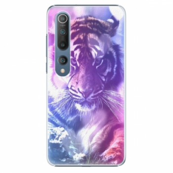 Plastové pouzdro iSaprio - Purple Tiger - Xiaomi Mi 10 / Mi 10 Pro