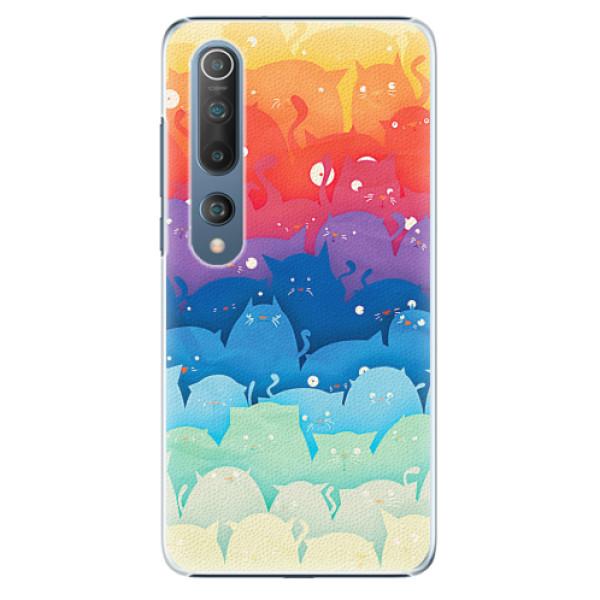 Plastové pouzdro iSaprio - Cats World - Xiaomi Mi 10 / Mi 10 Pro