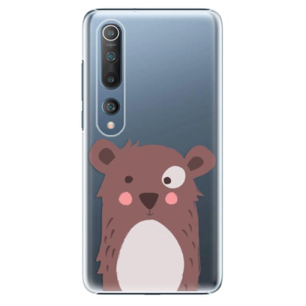 Plastové pouzdro iSaprio - Brown Bear - Xiaomi Mi 10 / Mi 10 Pro