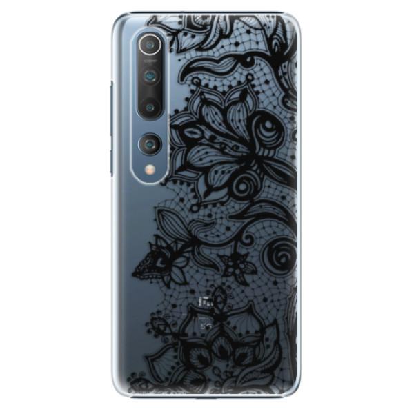 Plastové pouzdro iSaprio - Black Lace - Xiaomi Mi 10 / Mi 10 Pro