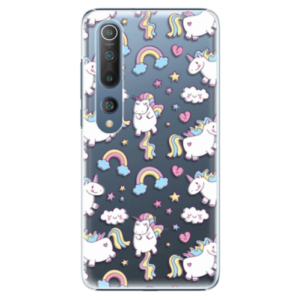 Plastové pouzdro iSaprio - Unicorn pattern 02 - Xiaomi Mi 10 / Mi 10 Pro