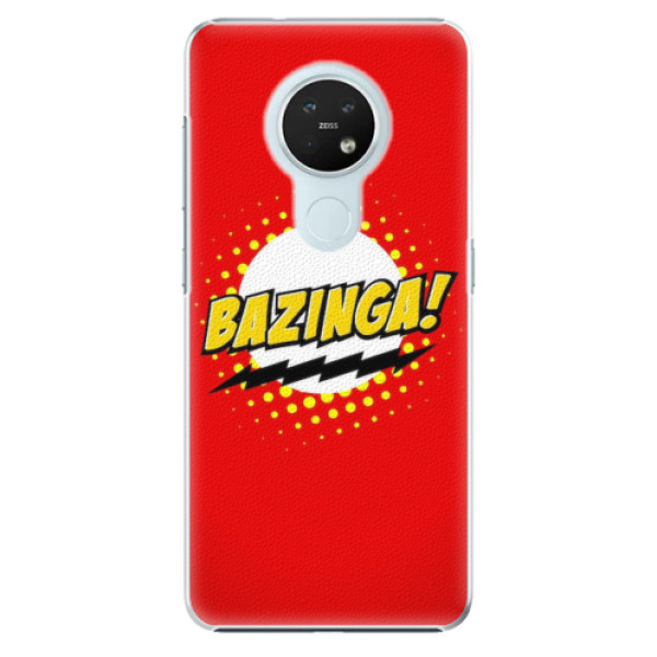 Plastové pouzdro iSaprio - Bazinga 01 - Nokia 7.2