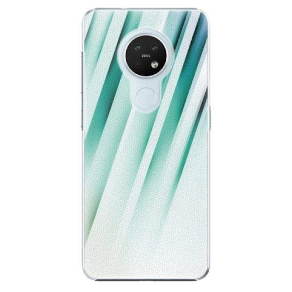 Plastové pouzdro iSaprio - Stripes of Glass - Nokia 7.2