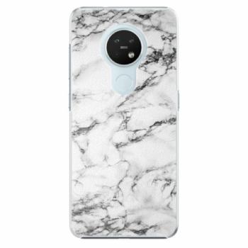 Plastové pouzdro iSaprio - White Marble 01 - Nokia 7.2