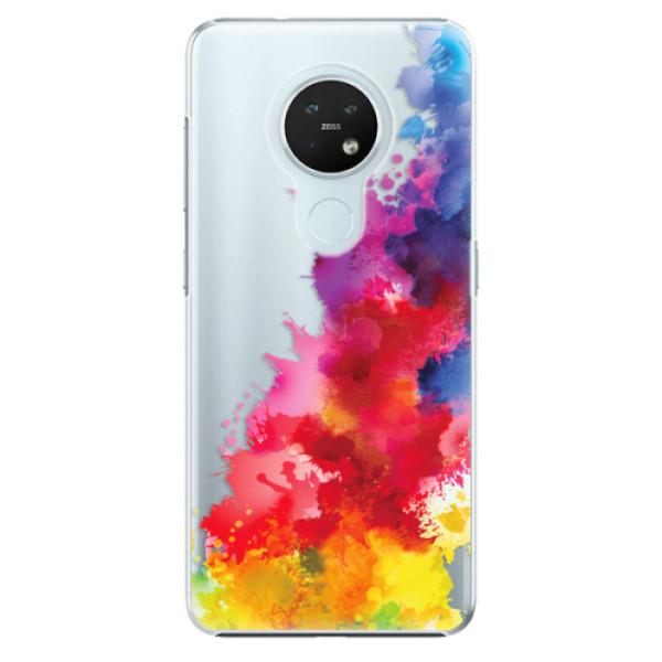 Plastové pouzdro iSaprio - Color Splash 01 - Nokia 7.2