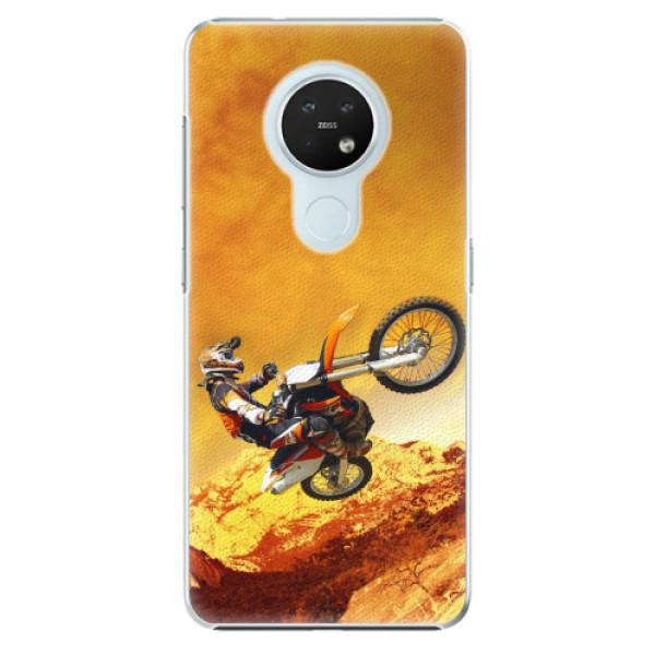 Plastové pouzdro iSaprio - Motocross - Nokia 7.2