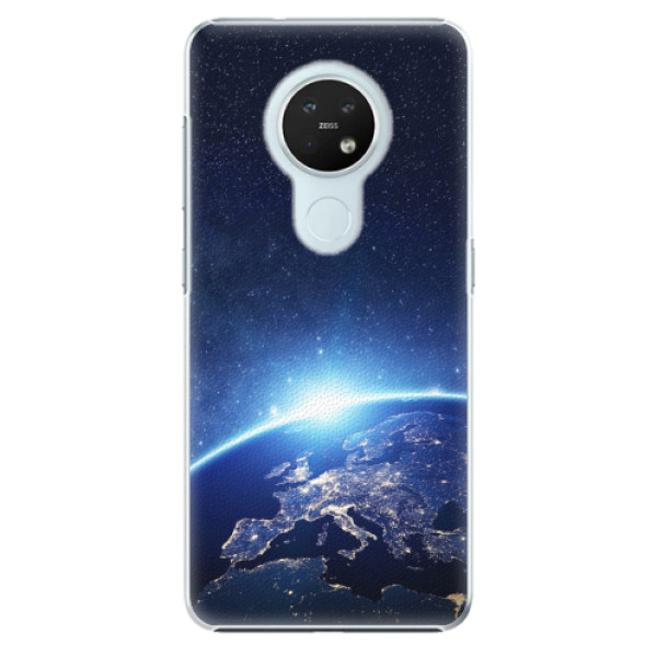 Plastové pouzdro iSaprio - Earth at Night - Nokia 7.2