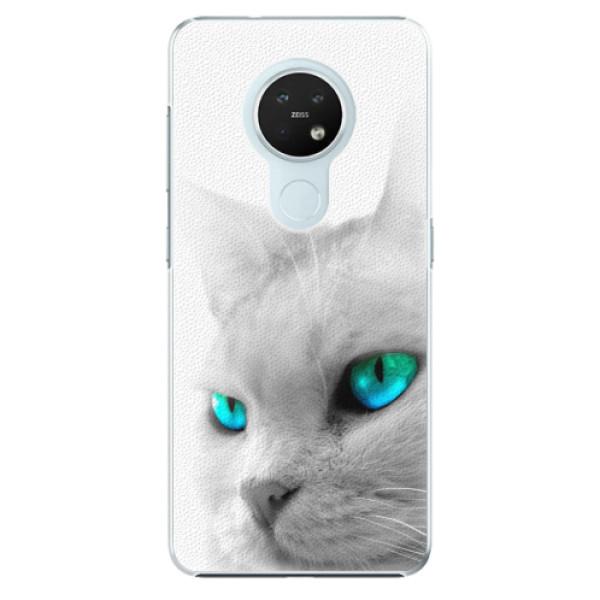 Plastové pouzdro iSaprio - Cats Eyes - Nokia 7.2