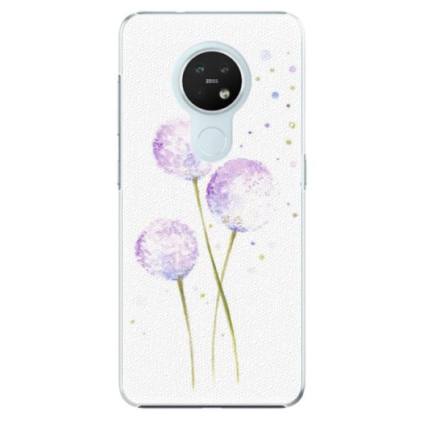Plastové pouzdro iSaprio - Dandelion - Nokia 7.2