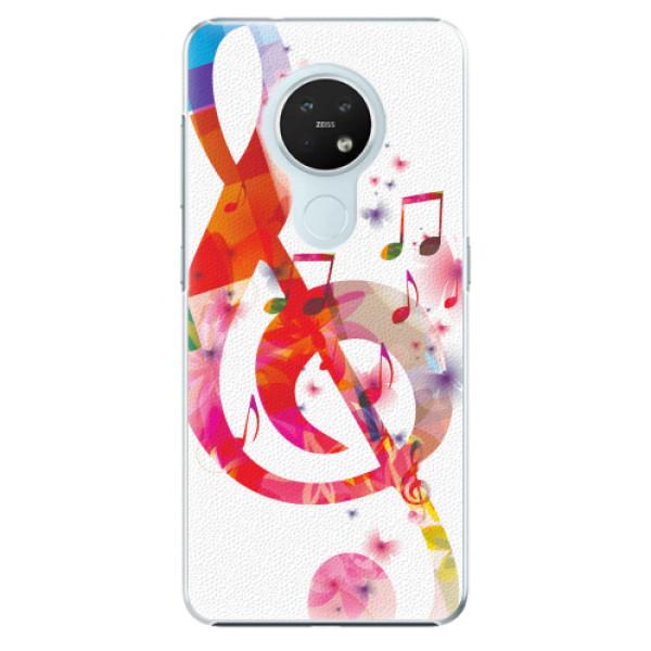 Plastové pouzdro iSaprio - Love Music - Nokia 7.2