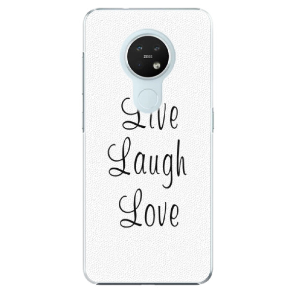 Plastové pouzdro iSaprio - Live Laugh Love - Nokia 7.2