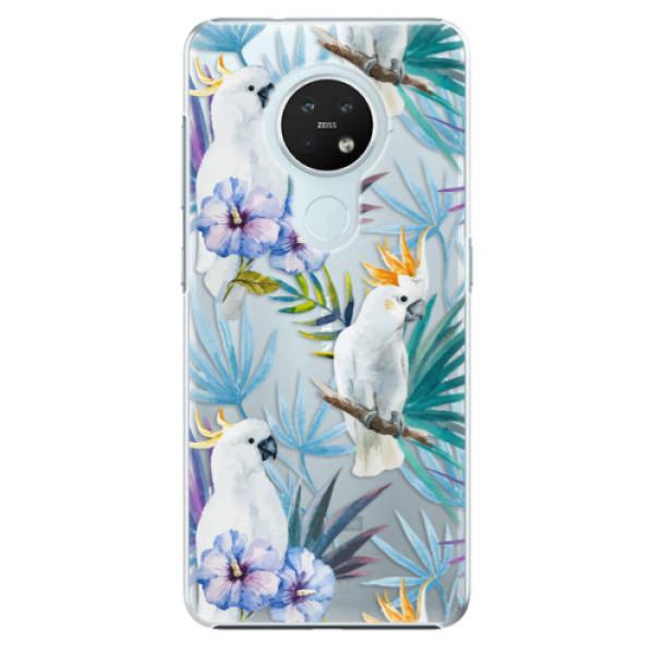 Plastové pouzdro iSaprio - Parrot Pattern 01 - Nokia 7.2