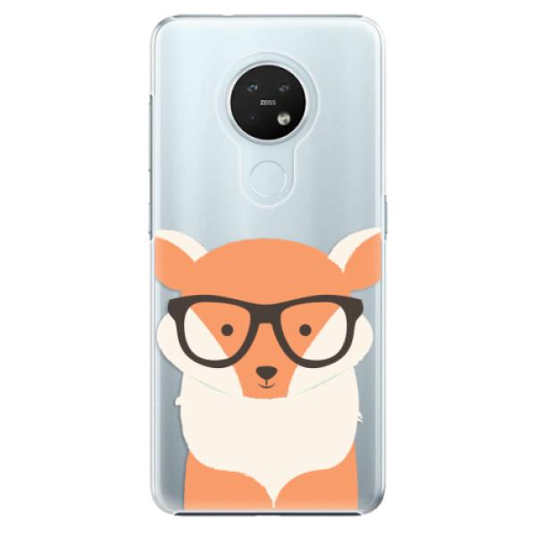 Plastové pouzdro iSaprio - Orange Fox - Nokia 7.2