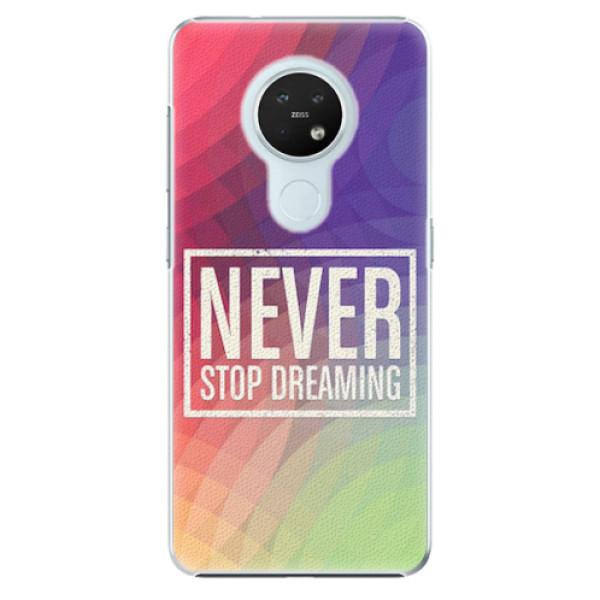 Plastové pouzdro iSaprio - Dreaming - Nokia 7.2