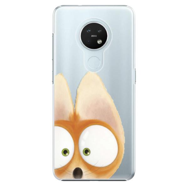 Plastové pouzdro iSaprio - Fox 02 - Nokia 7.2