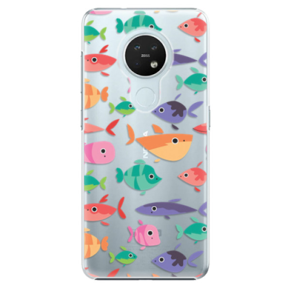 Plastové pouzdro iSaprio - Fish pattern 01 - Nokia 7.2
