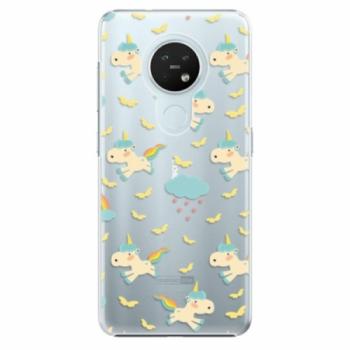 Plastové pouzdro iSaprio - Unicorn pattern 01 - Nokia 7.2