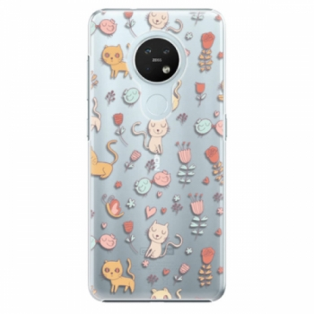 Plastové pouzdro iSaprio - Cat pattern 02 - Nokia 7.2