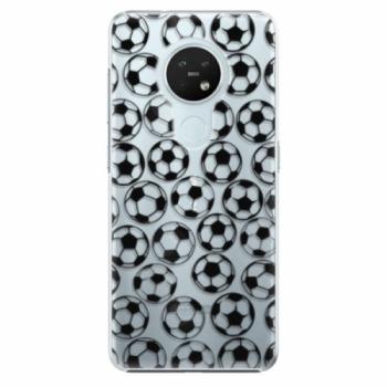 Plastové pouzdro iSaprio - Football pattern - black - Nokia 7.2