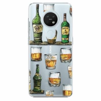 Plastové pouzdro iSaprio - Whisky pattern - Nokia 7.2