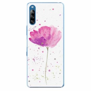 Plastové pouzdro iSaprio - Poppies - Sony Xperia L4