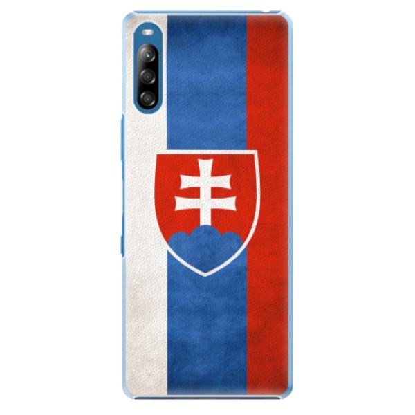 Plastové pouzdro iSaprio - Slovakia Flag - Sony Xperia L4