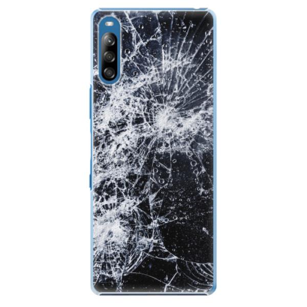 Plastové pouzdro iSaprio - Cracked - Sony Xperia L4