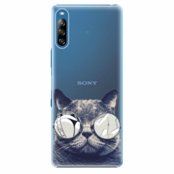 Plastové pouzdro iSaprio - Crazy Cat 01 - Sony Xperia L4