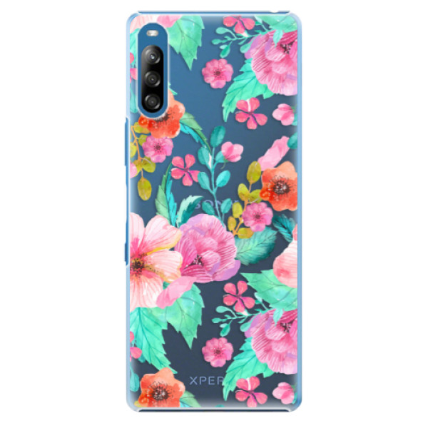 Plastové pouzdro iSaprio - Flower Pattern 01 - Sony Xperia L4