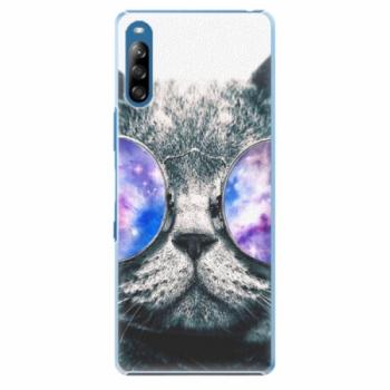 Plastové pouzdro iSaprio - Galaxy Cat - Sony Xperia L4