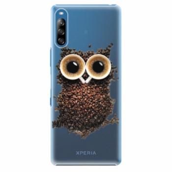 Plastové pouzdro iSaprio - Owl And Coffee - Sony Xperia L4