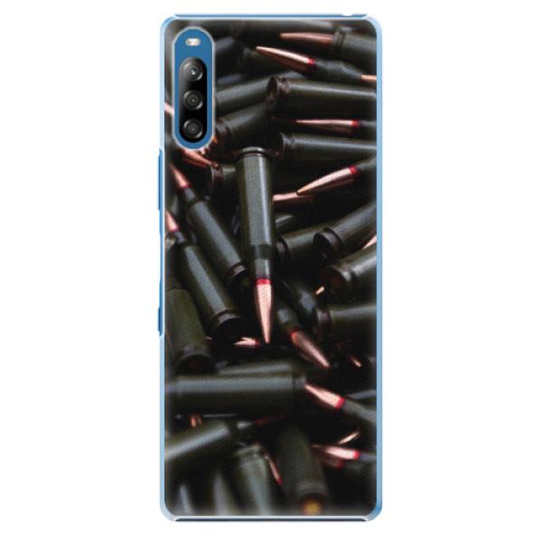 Plastové pouzdro iSaprio - Black Bullet - Sony Xperia L4