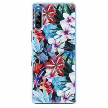 Plastové pouzdro iSaprio - Tropical Flowers 05 - Sony Xperia L4