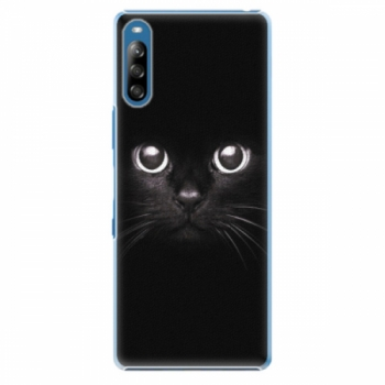 Plastové pouzdro iSaprio - Black Cat - Sony Xperia L4