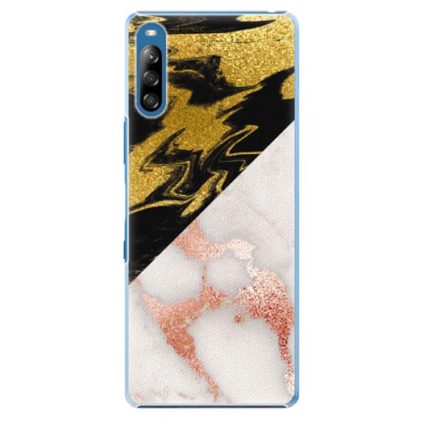 Plastové pouzdro iSaprio - Shining Marble - Sony Xperia L4