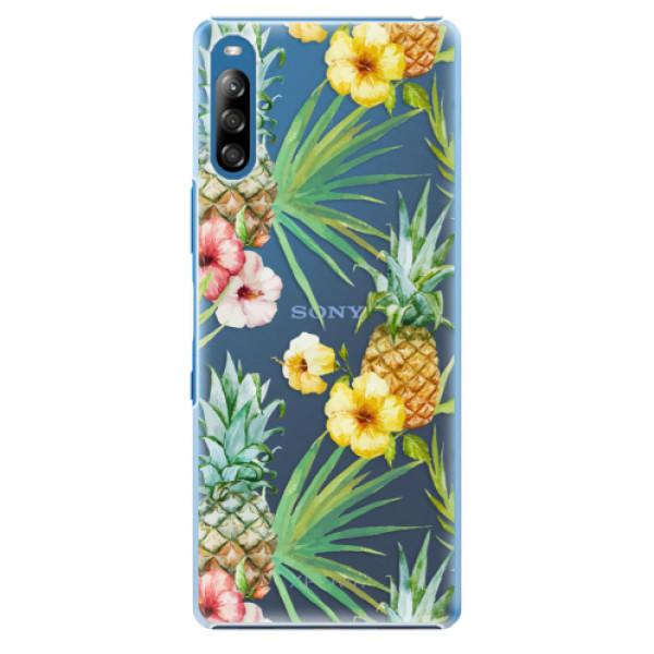 Plastové pouzdro iSaprio - Pineapple Pattern 02 - Sony Xperia L4