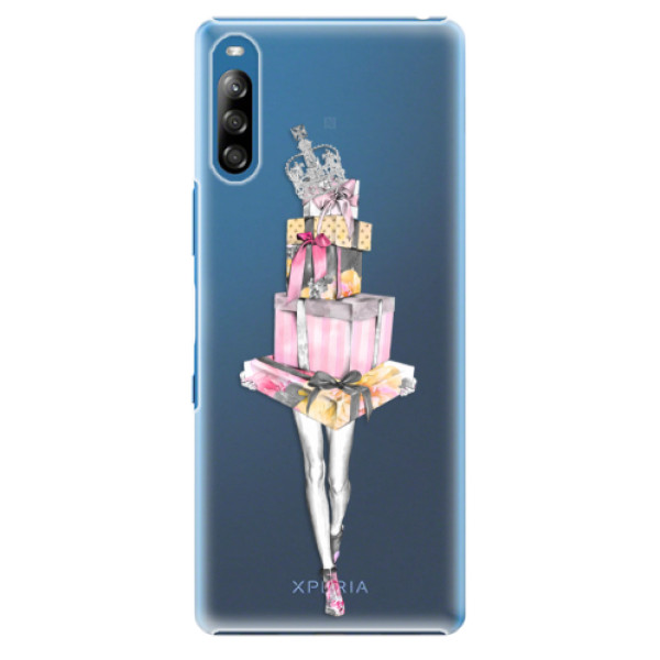Plastové pouzdro iSaprio - Queen of Shopping - Sony Xperia L4