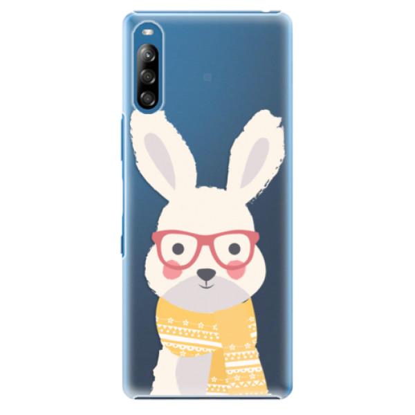 Plastové pouzdro iSaprio - Smart Rabbit - Sony Xperia L4