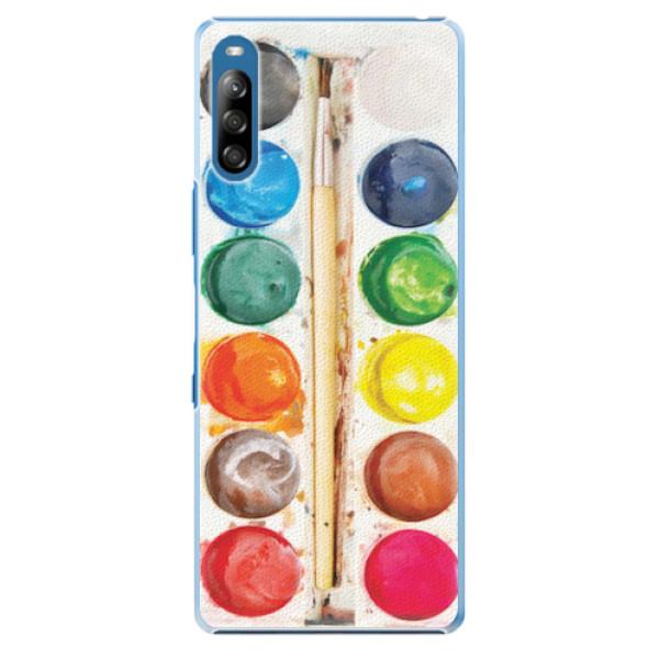Plastové pouzdro iSaprio - Watercolors - Sony Xperia L4