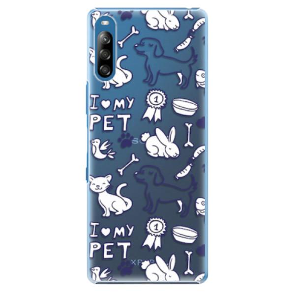 Plastové pouzdro iSaprio - Love my pets - Sony Xperia L4