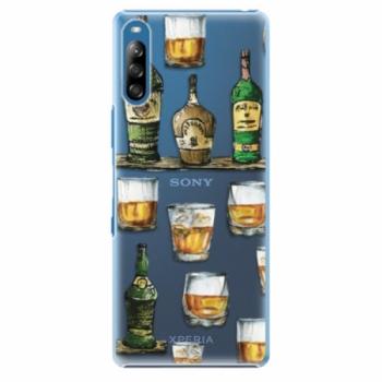 Plastové pouzdro iSaprio - Whisky pattern - Sony Xperia L4