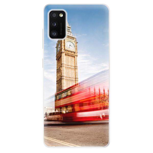 Odolné silikonové pouzdro iSaprio - London 01 - Samsung Galaxy A41