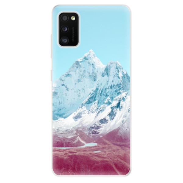Odolné silikonové pouzdro iSaprio - Highest Mountains 01 - Samsung Galaxy A41
