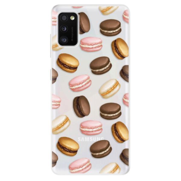 Odolné silikonové pouzdro iSaprio - Macaron Pattern - Samsung Galaxy A41