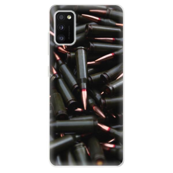Odolné silikonové pouzdro iSaprio - Black Bullet - Samsung Galaxy A41